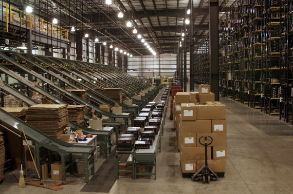 Rocky Boot Shipping Facility